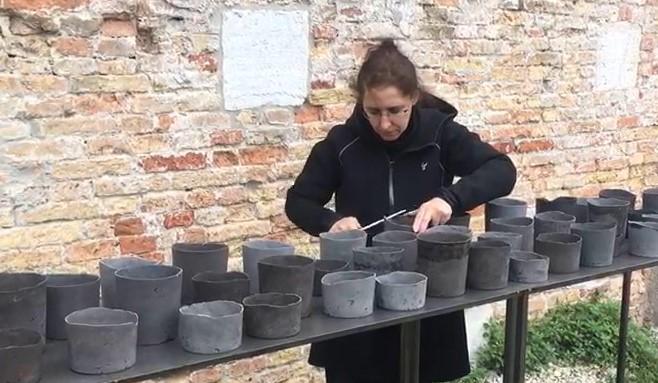 Cristina Treppo allo Spazio Thetis di Venezia