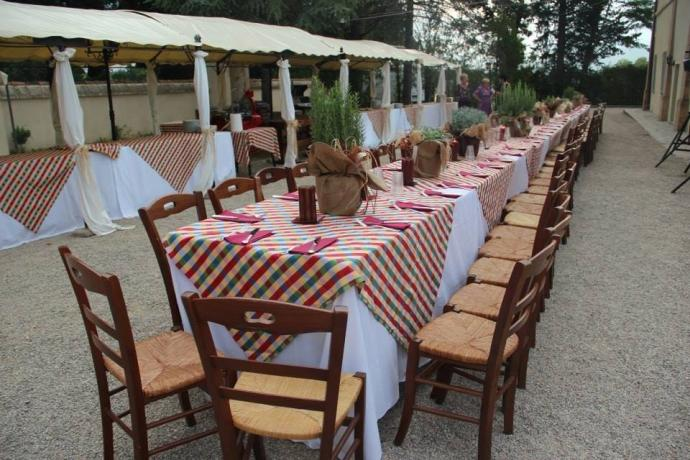 Villa per eventi speciali in Umbria Città-di-Castello