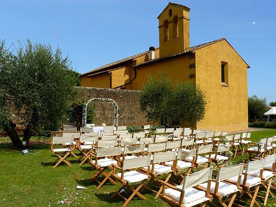 Struttura per matrimonio a Viterbo