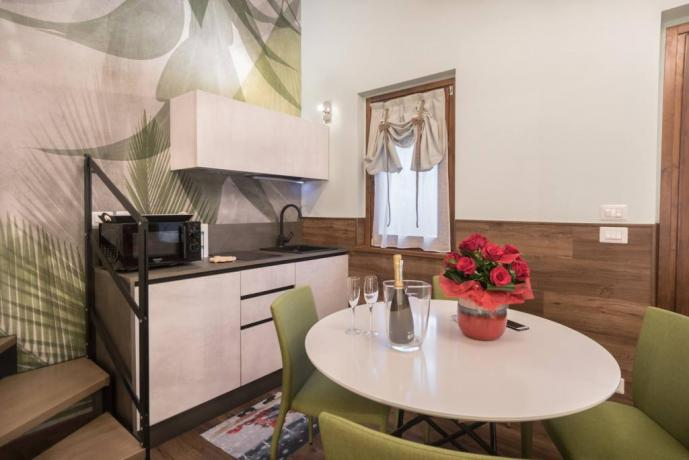 SPA Suite: Angolo Cucina per Cena Romantica