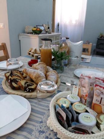 Bed and Breakfast Acquasparta con colazione variegata
