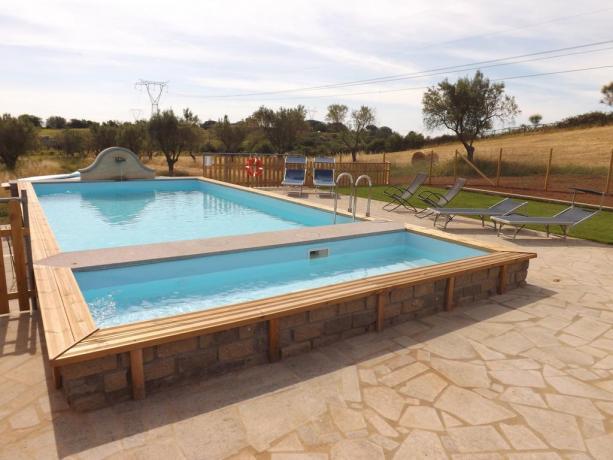 Appartamenti Vacanza nel Lazio con Jacuzi e piscina