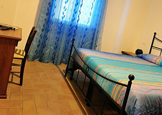 Letto matrimoniale, appartamento Malvasia, Montebuono