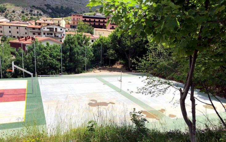 Campo regolamentare Volley-Pallavolo hotel Ritiro Sportivo Abruzzo