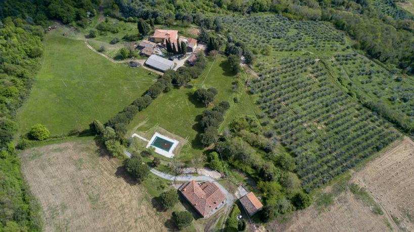 Azienda Agrituristica Vicino Firenze Piscina a Pontassieve