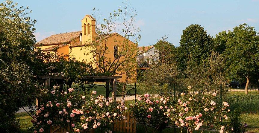 Vista della Country House di Viterbo