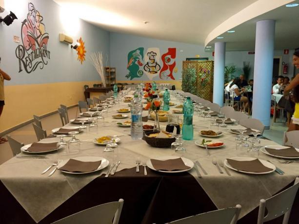 Residence con Ristorante tipico a Bernalda