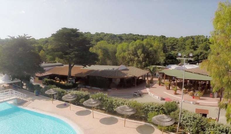 Villaggio vacanza low cost con piscina