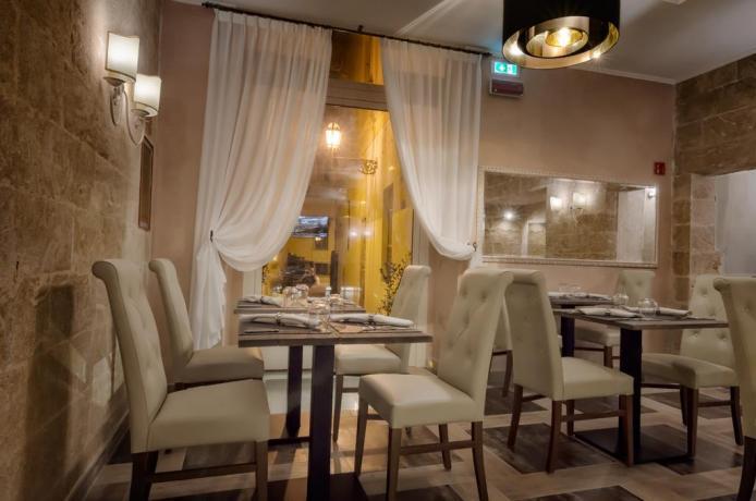 Ristorante con cucina anche vegana albergo a Lecce