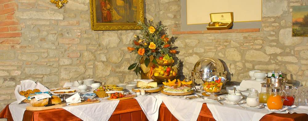 Ristorante in Villa a Cortona in Toscana