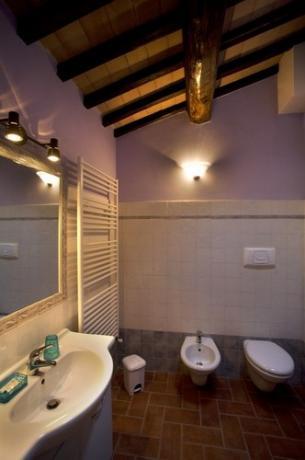 bagno camera Casale La Dimora
