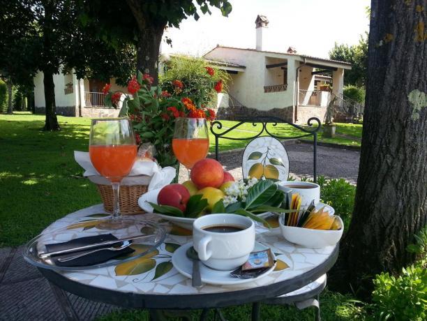 Suite con Vasca Idromassaggio: colazione