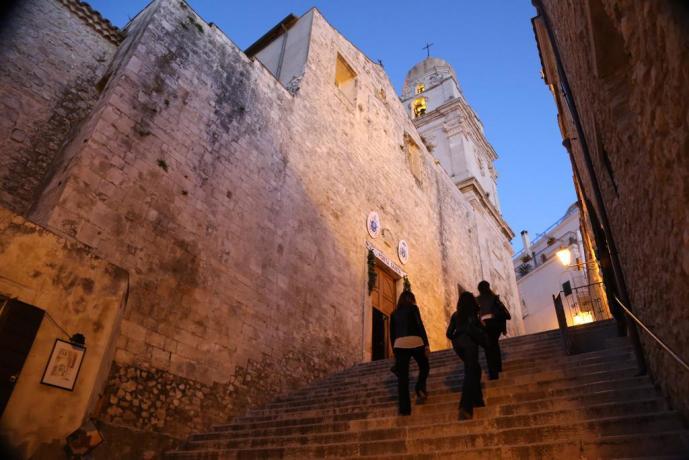 Camere vicino al centro di Vieste, in Puglia