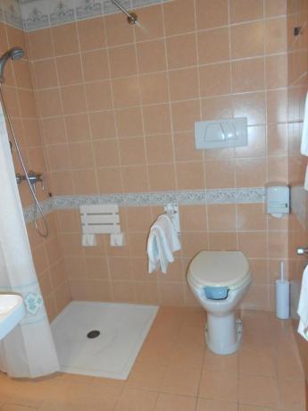 Bagno privato appartamento vicino Assisi