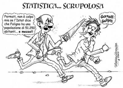 Vignetta - Statistica - Satira a Fumetti