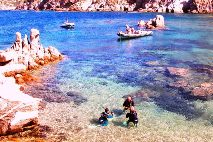 Immersioni subacquee in Costa Smeralda