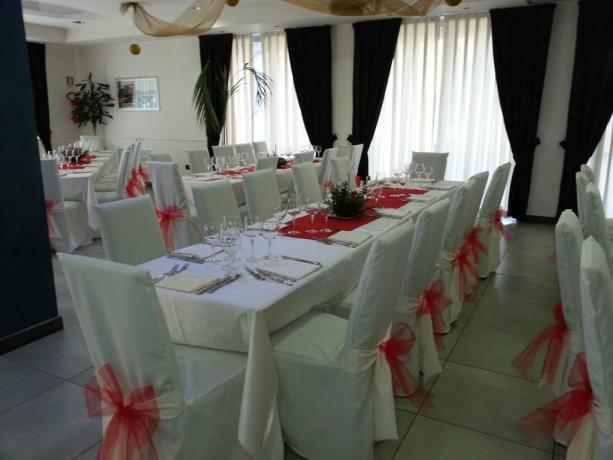 Ristorante interno all'hotel
