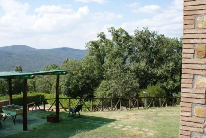 Agriturismo a Torre Alfina con ampio Giardino