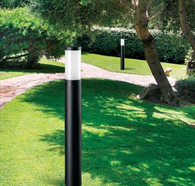 Led da esterno per illuminazione giardino produzione pali for Luci x esterno