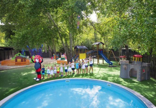 Animazione e piscina per bambini: The Sea Village