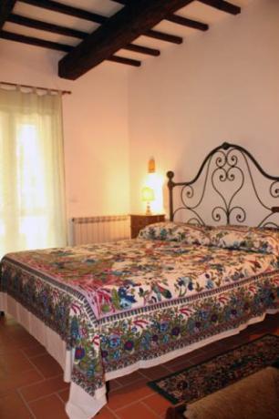 Camera matrimoniale, Appartamento a piano terra