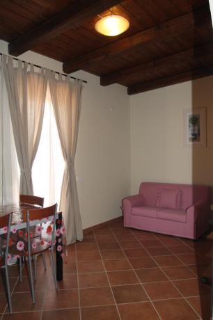 Mansarda con soggiorno residence a Ronciglione