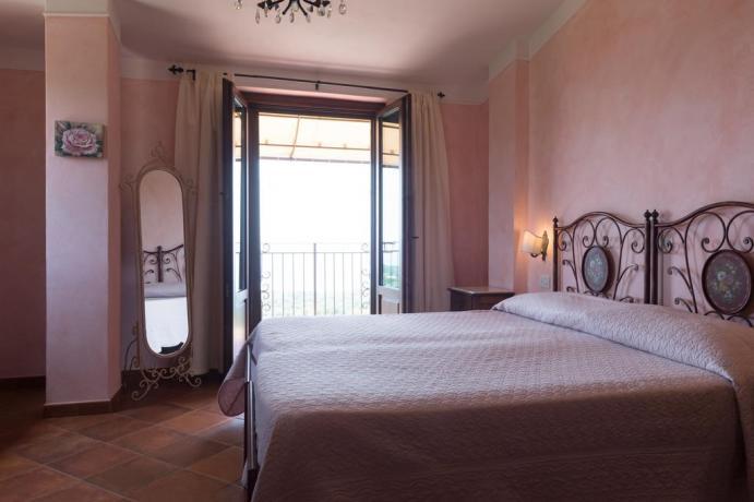 Camera con Balcone vista Mare-Giardino vicino Sapri