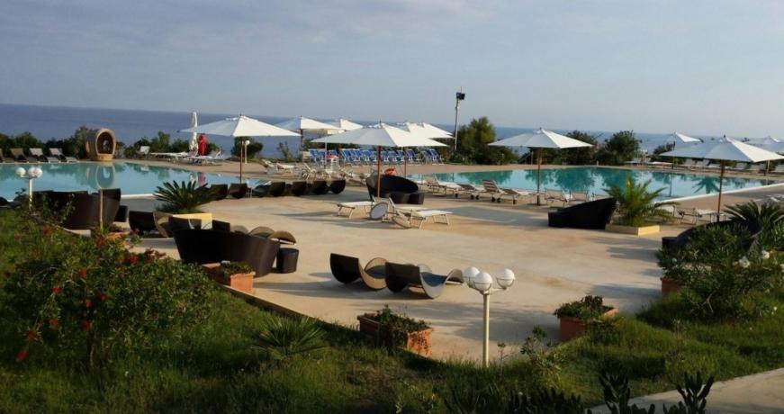 Spiaggia Privata in Villaggio sul Mare vicino Tropea
