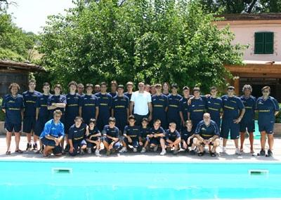 Campus estivi per squadre di calcio Umbria