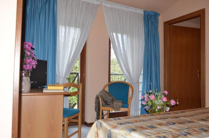 Camera matrimoniale standard hotel a Collevalenza