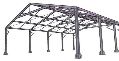 Struttura prefabbricata in acciaio scale da interno ed esterno su misura progettazione e - Struttura in ferro per casa ...