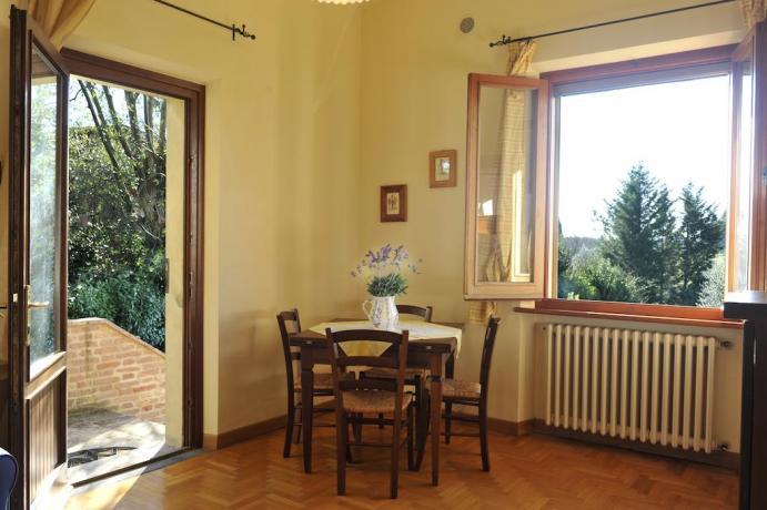 Soggiorno Appartamento L'Ulivo a Castiglione del Lago