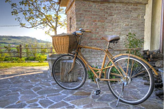 Agriturismo Umbro con noleggio Biciclette