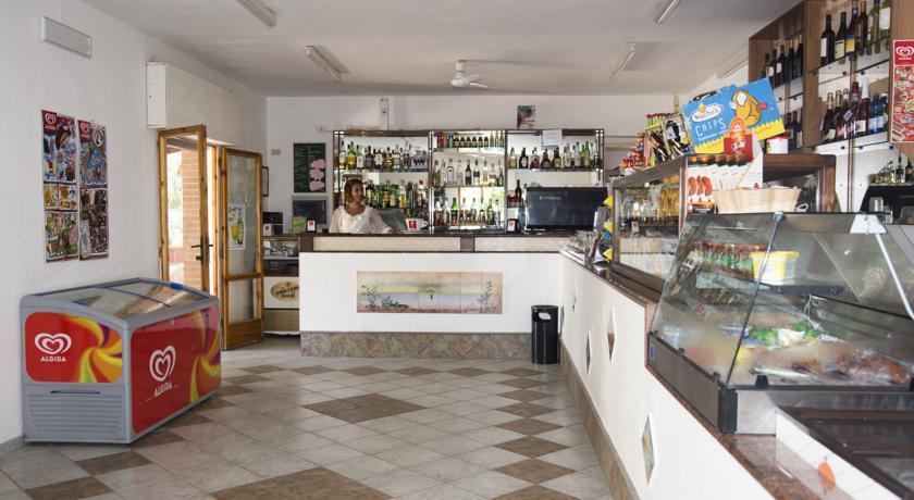 Minimarket, ristorante e bar per gli ospiti