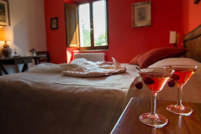 Appartamenti con bagno privato e biancheria ad Assisi