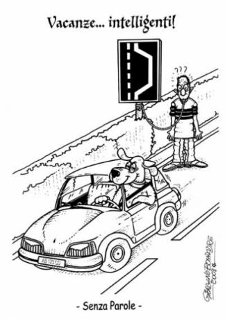Vignetta   Codice della Strada   Umorismo   Satira