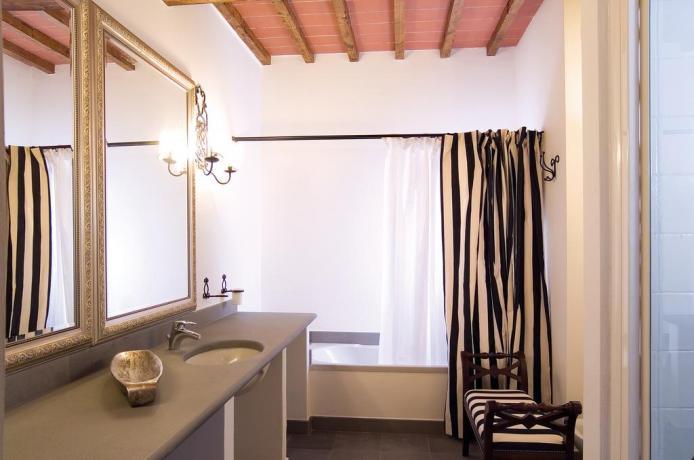 Appartamento con Vasca in Bagno