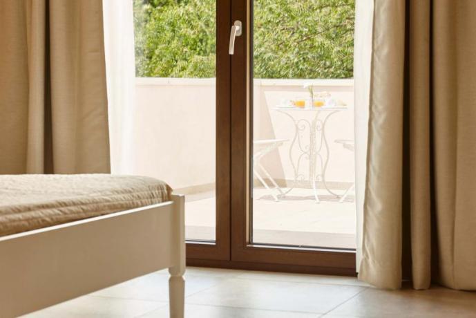 Mini appartamento con balcone in residence Salerno