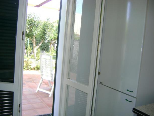 Residence con appartamenti con piccolo portico in Puglia