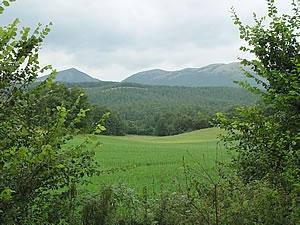 Un panorama della Valnerina