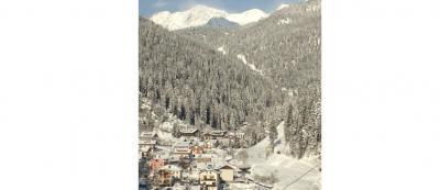 Paesaggio innevato vicino Cortina