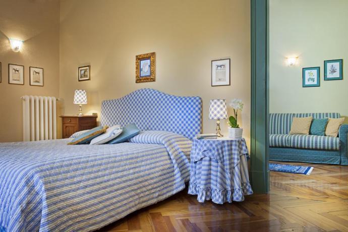 Camere personalizzate con stoffe particolari