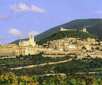 Assisi e il Monte Subasio