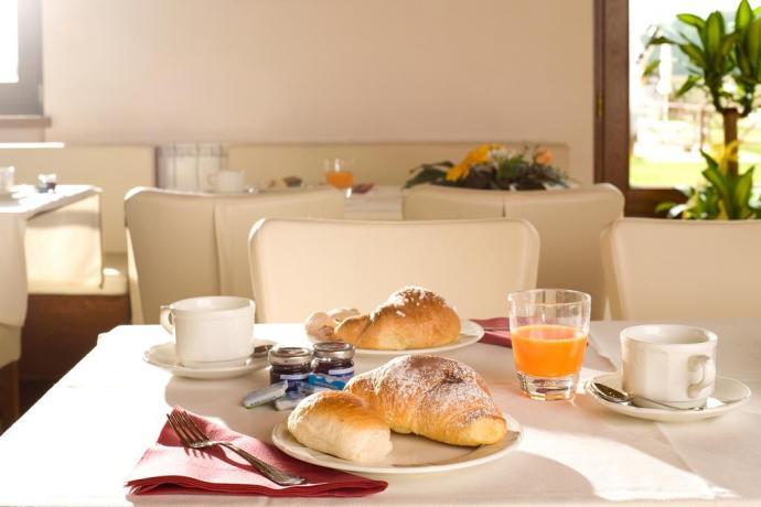Colazione in agriturismo con appartamenti Assisi