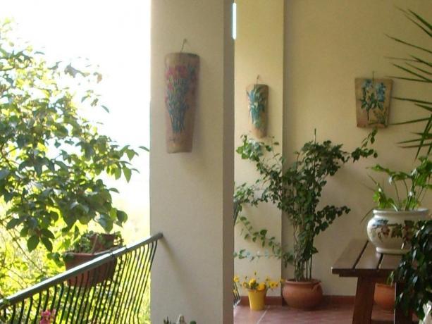 B&B Todi camera con terrazzo
