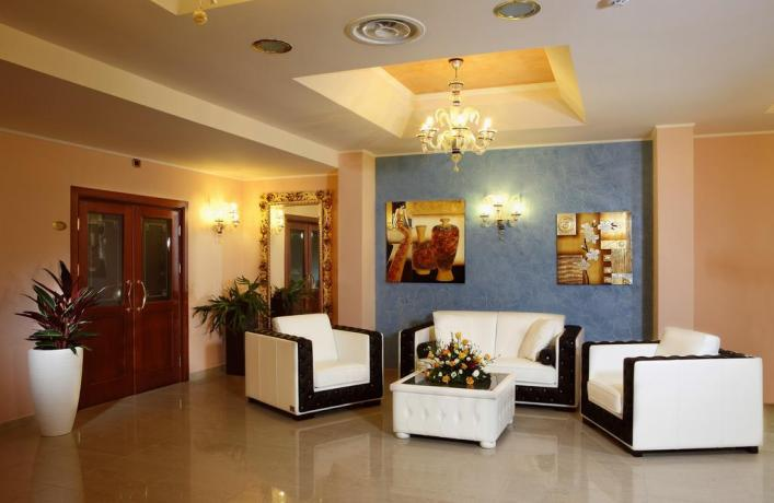 Resort a Castellana  Grotte con ampio salone