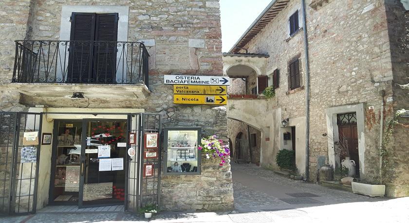 Dormire a Scheggino in Umbria