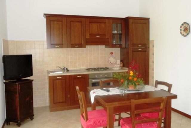 Cucina Appartamento Giada agriturismo vicino Spoleto