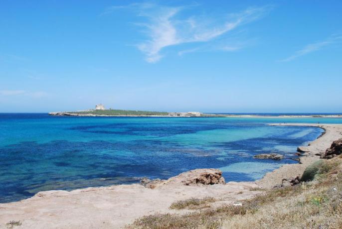 Villaggio vicino Spiaggia Portopalo di Capo Passero