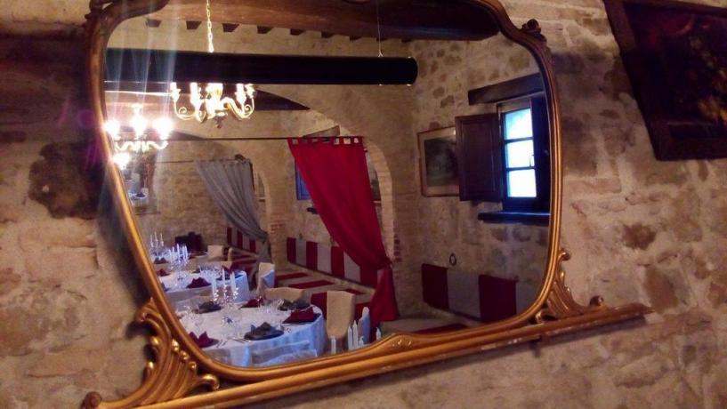Agriturismo vicino Assisi con ristorante